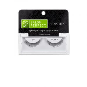 SALON PERFECT EYELASHES BE NATURAL – 109  BLACK
