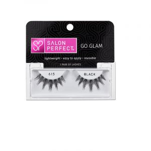 SALON PERFECT EYELASHES GO GLAM – 615 BLACK