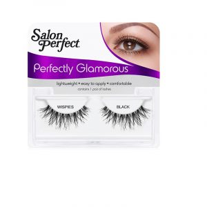 SALON PERFECT WISPIES  GO GLAM – BLACK