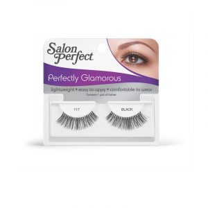 SALON PERFECT EYELASHES GO GLAM -117 BLACK